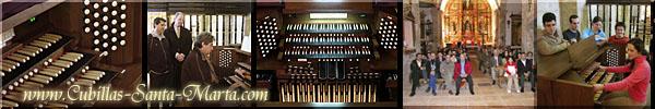 El nuevo Órgano de Conciertos instalado  en la Iglesia de Cubillas de Santa Marta (Valladolid)